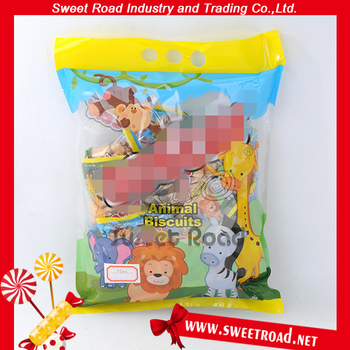 Animal Shaped Crisp Biscuit Homemade Single Packaged Biscuits
