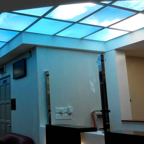 artificial skylights sky ceiling fake skylight led panel light