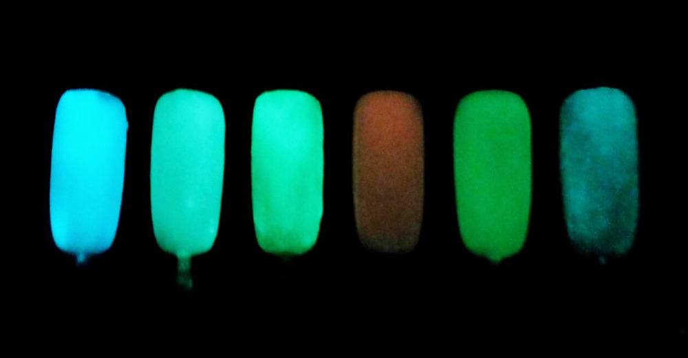 Geschickt Nagel Glitter Glow In The Dark Acryl Leuchtstoffpulver Effekt Leucht Pulver Phosphor Pigment Für Nail Art Design Schönheit & Gesundheit Nagelglitzer