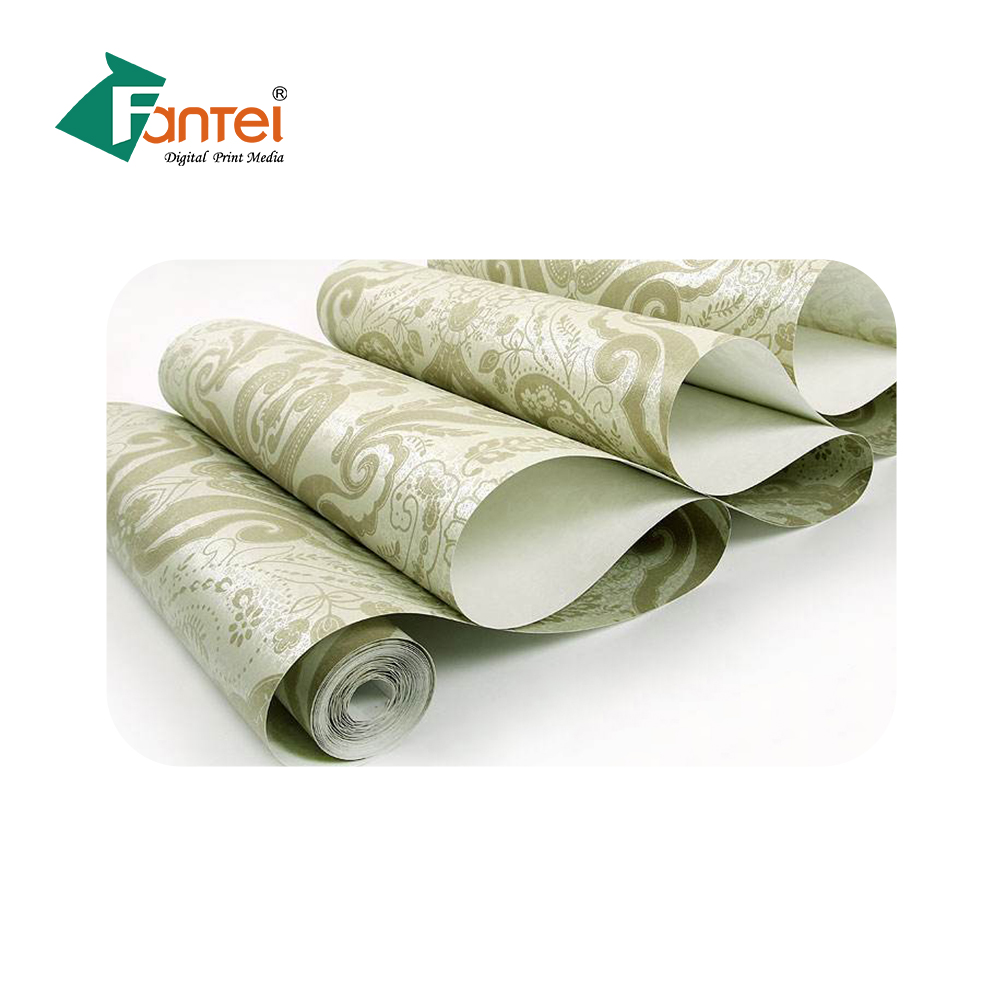 Top Selling  Decoration Printing Materials Wall Paper Designs