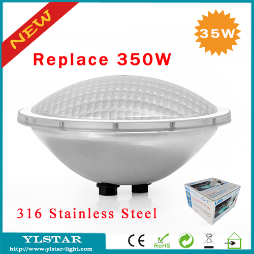 Free Shipping Ac12v Cob 35w Ip68 Par56 Led Piscine