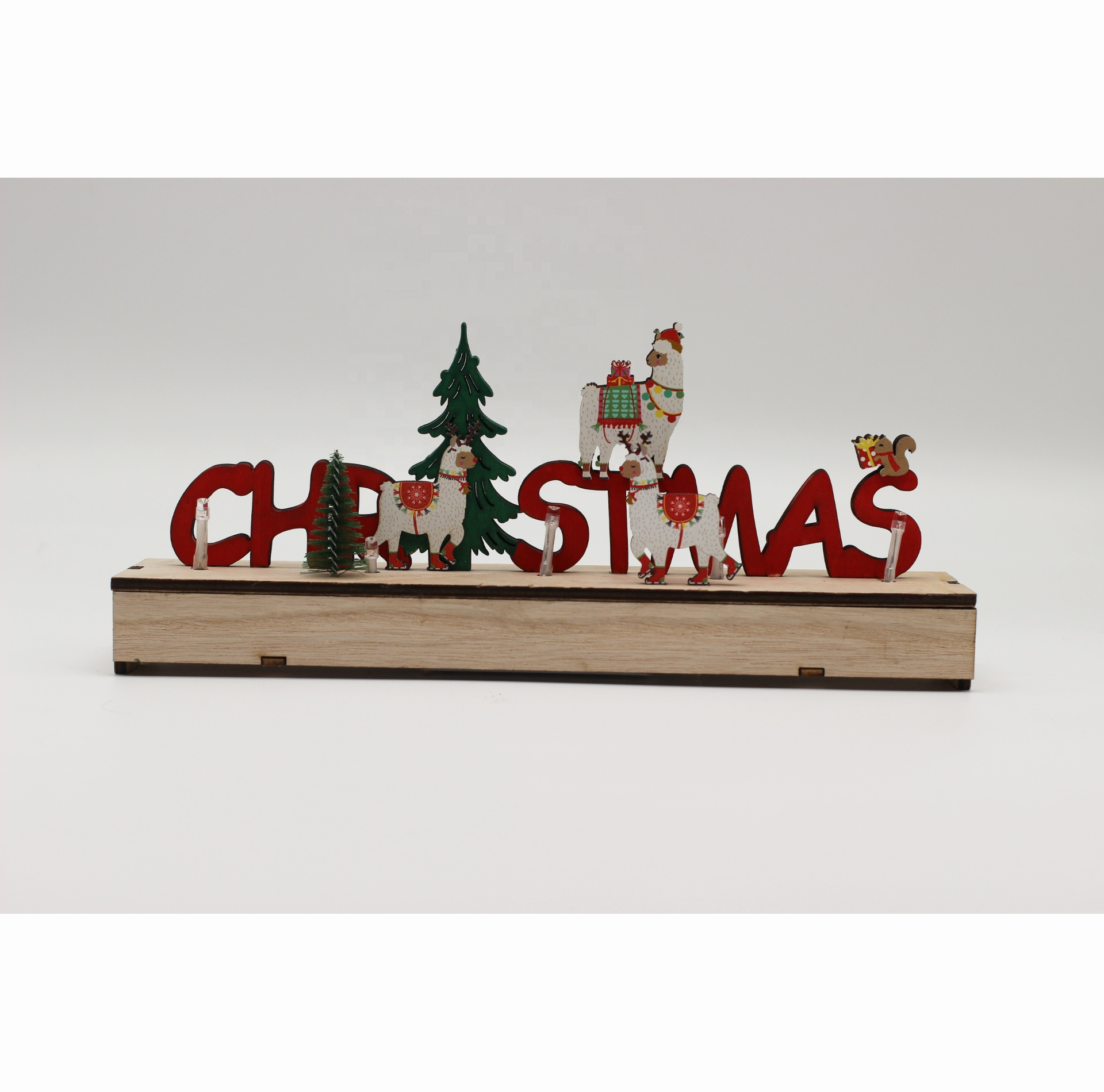 Christmas Ty 2021 Products 2021 New Products Christmas Wooden Craft With Led Light With Christmas Letters And Grass Mud Horse Decoration Buy 2021 New Products Christmas Wooden Craft With Led Light With Christmas Letters And