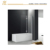 Blossom Salable frameless folding shower screen for bath