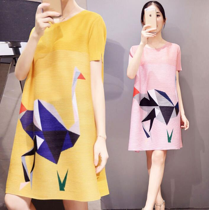 Maternity Dresses Plus Size Dress for Pregnant Women Summer Beading Maternity Clothes Women Pregnancy Clothing