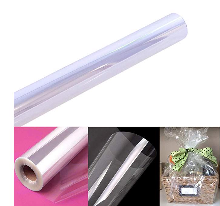 Пищевая супер прозрачная целлофановая бумага для упаковки