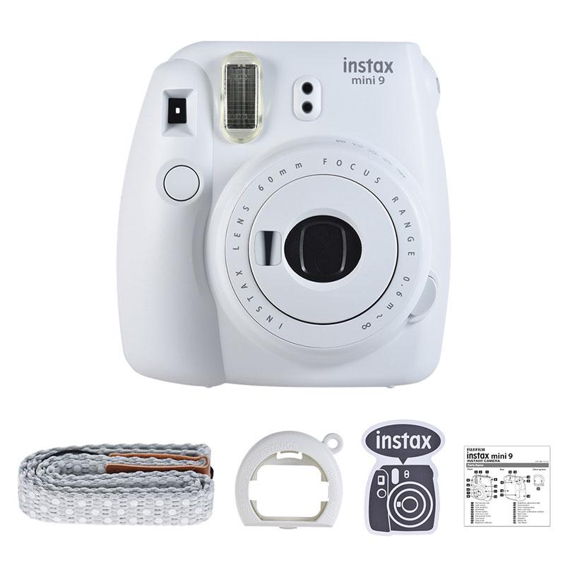 Новая 5 видов цветов Fujifilm Instax Mini 9 мгновенная камера фото камера пленочная камера с зеленым/белым/синим/розовым(Китай)