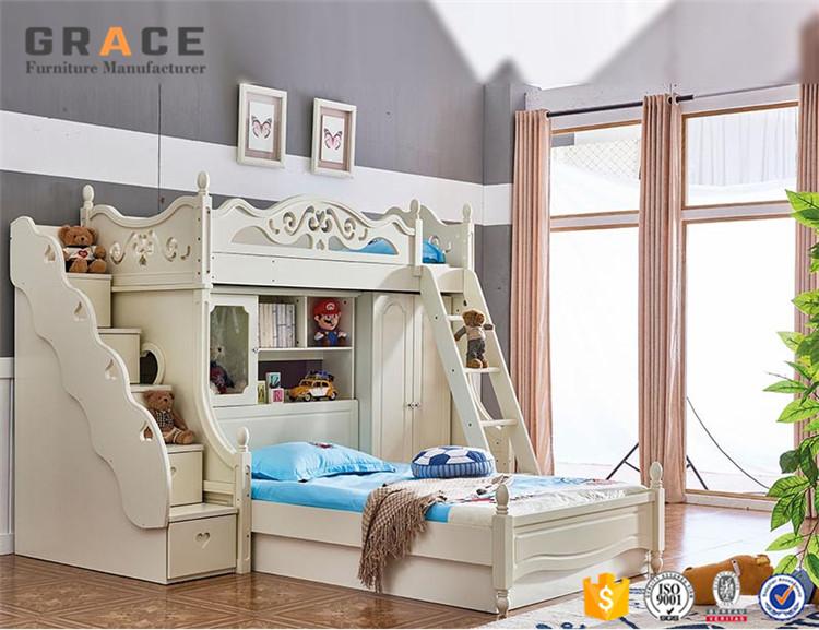 Kids Bunk Bed Set Children Bedroom Furniture - Buy Bunk Bed