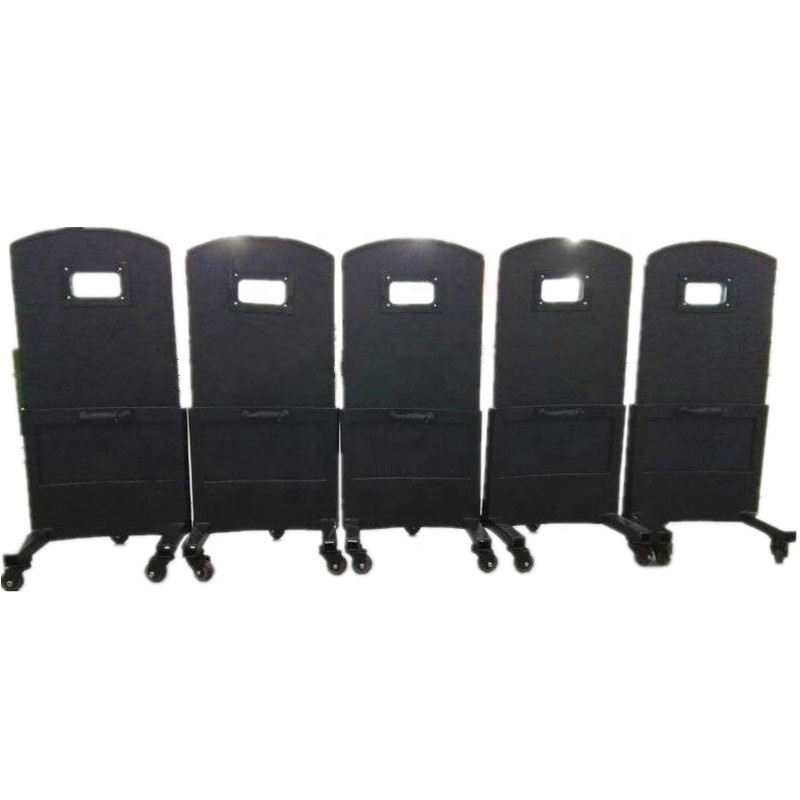 Hand-Held Rectangle Anti-riot Shield Security Protection Swat Police Tactical