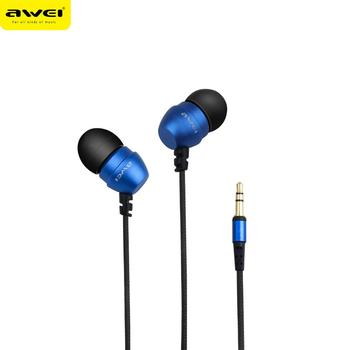 2017 Original AWEI ES-Q8 High Quality 3.5MM Jack In Ear Phones Colorful Fashional Head Phone