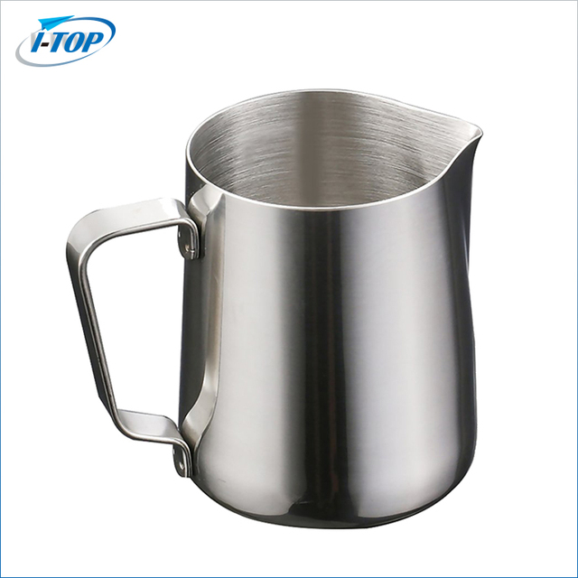Espresso Coffee different colors stainless steel milk pitcher jug