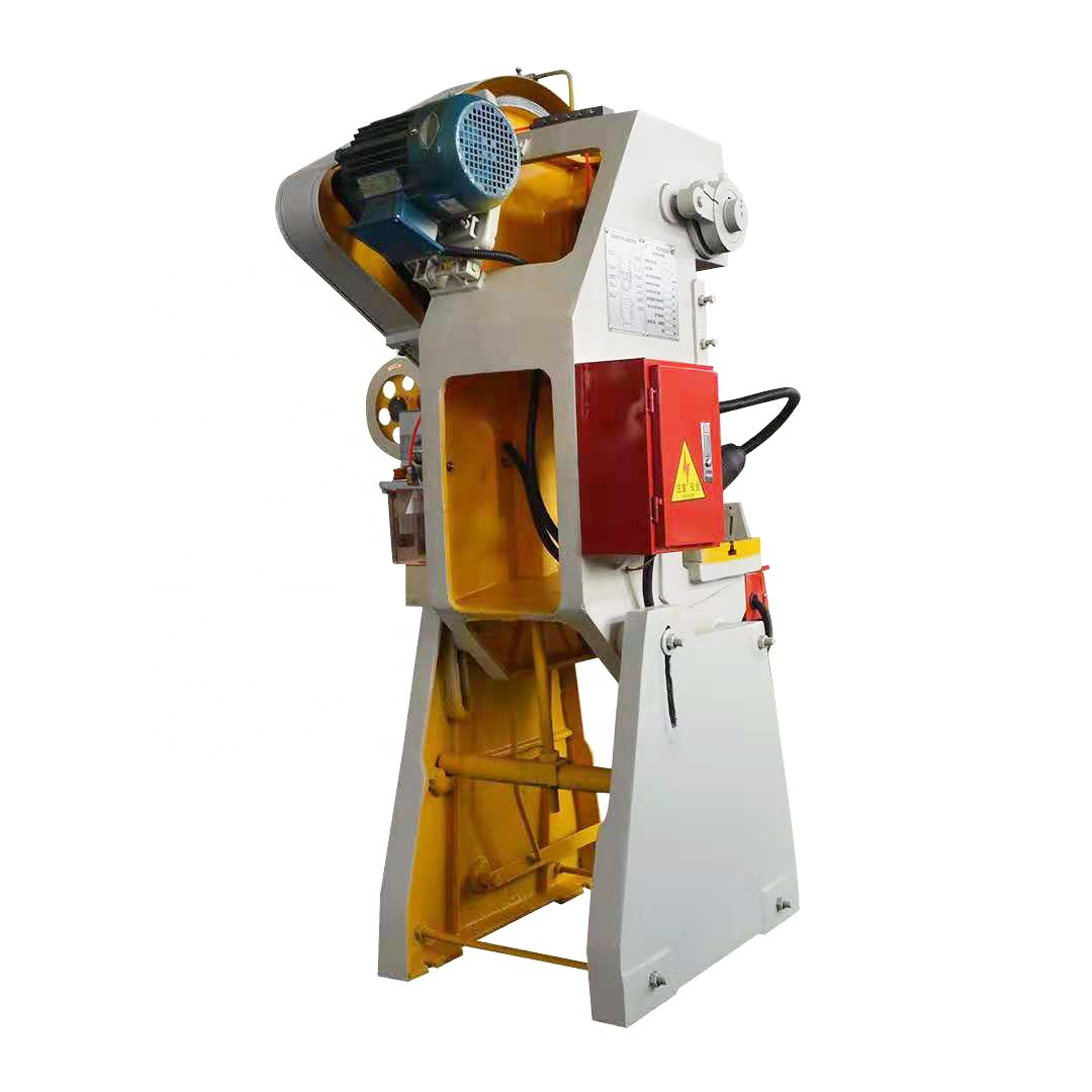 10ton pressure iron sheet metal washer hole punching machine rates, power press machine