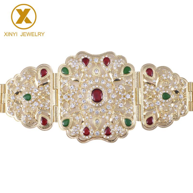 Hot Women Wedding Belt Full diamond Adjust Length Waist Belly Chain Wedding Classic Dress Accessories Bridal Gifts