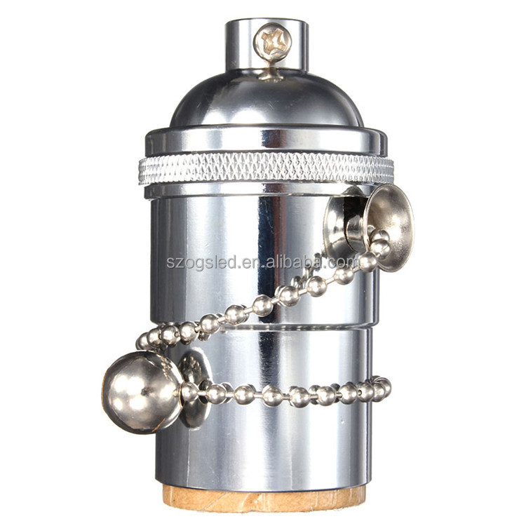 Аксессуары для ламп высокого качества, винтажный медный держатель для ламп CE и RoHS E14 / E27
