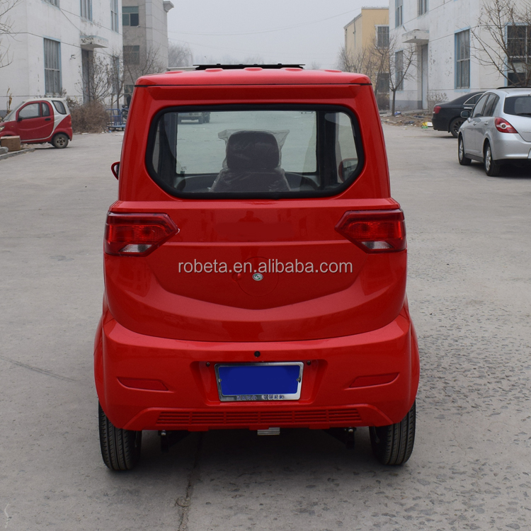 CE Certificate 3 seater electric car motor without driving licence