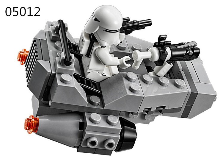 New Star Wars Figures Spaceship Building Blocks Clone Wars