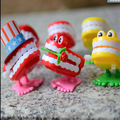 10pcs Toys wholesale spring on the chain jumped four paragraph styles teeth random thomas and friends