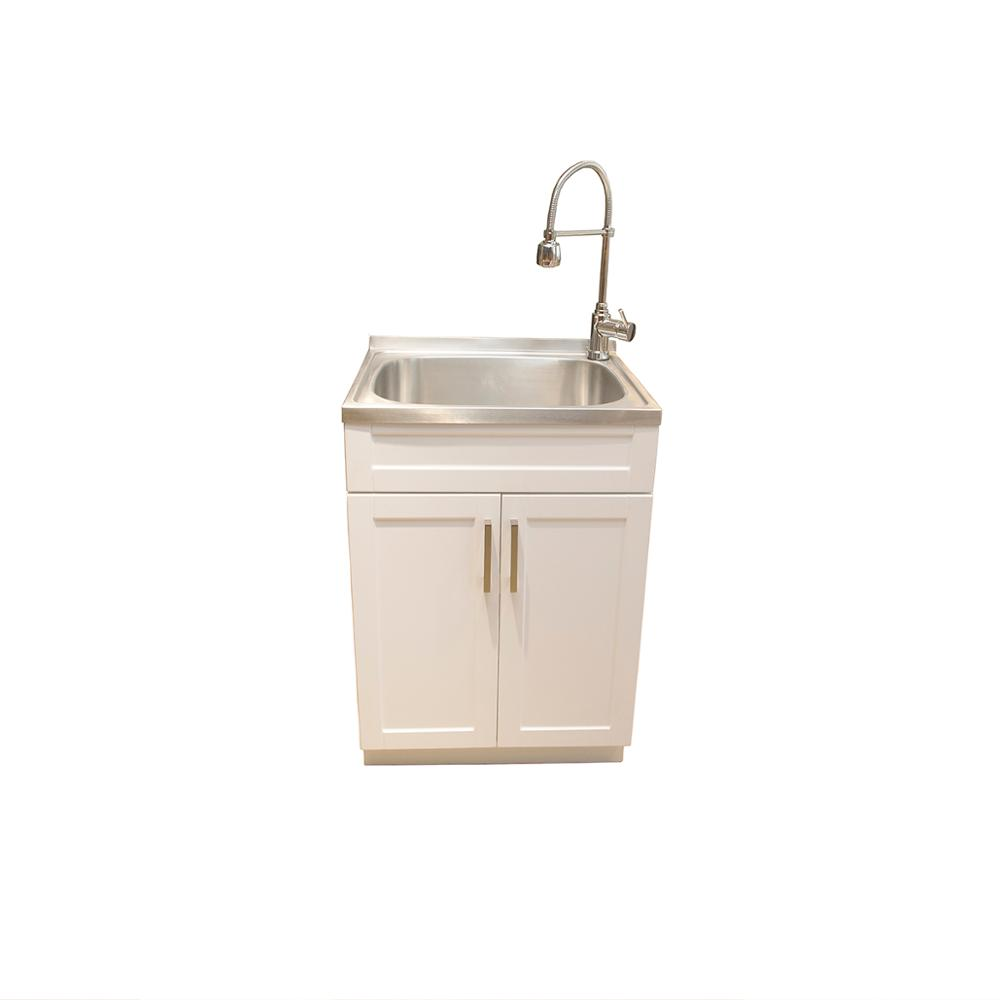 Hoifat Laundry Combo Stainless Steel Metal Free Standing Kitchen Under Sink Base Cabinet Unit Buy Stainless Steel Sink Cabinet Free Standing Kitchen Sink Cabinet Metal Under Sink Cabinet Product On Alibaba Com