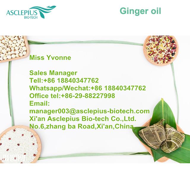 Лучшее натуральное органическое Эфирное масло имбиря/масло имбиря в Китае