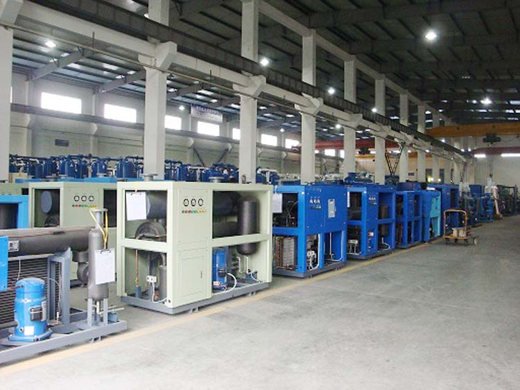 2018 Shanli 20% Energy Saving Heated Modular desiccant air dryer SDXM-1J