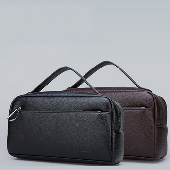 New men's clutch bag large capacity business casual tide bag multi-pocket high quality men's hand bag