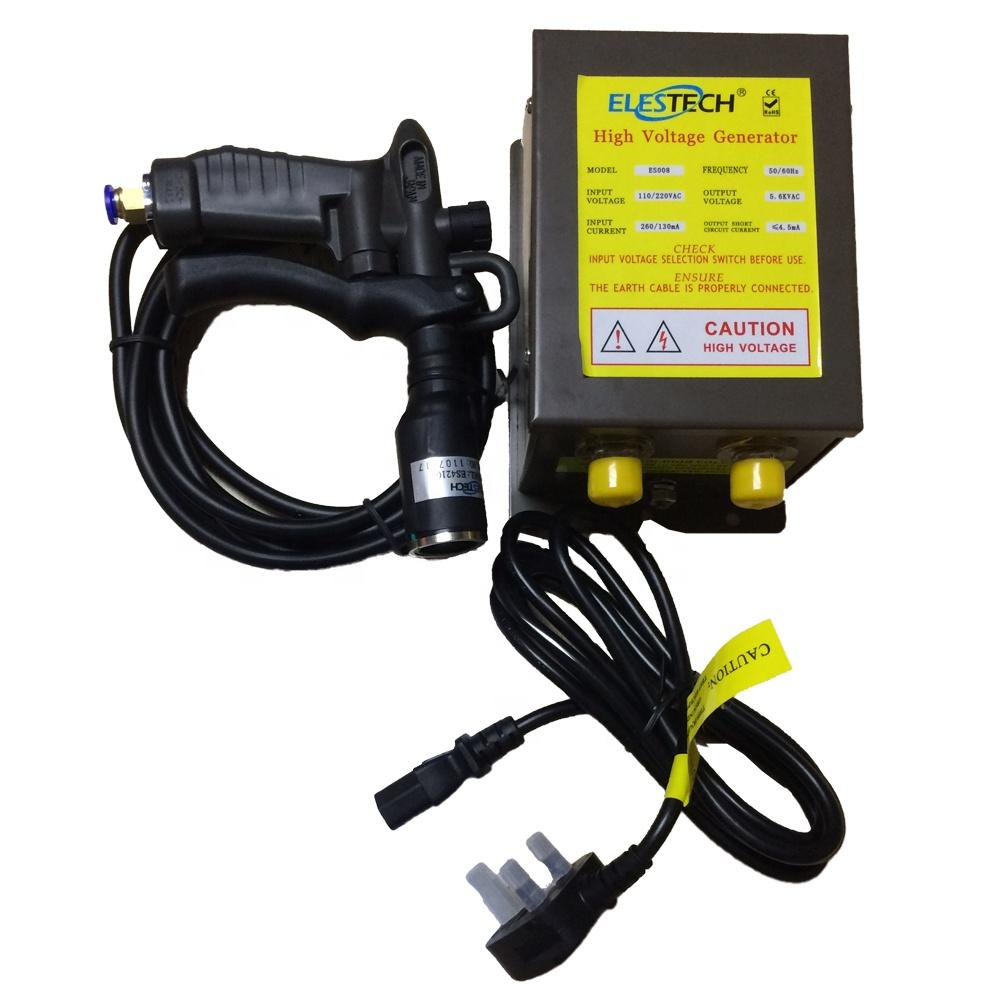 Antistatic Air Gun Ionizing Air Gun Electrostatic /& High Voltage Generator