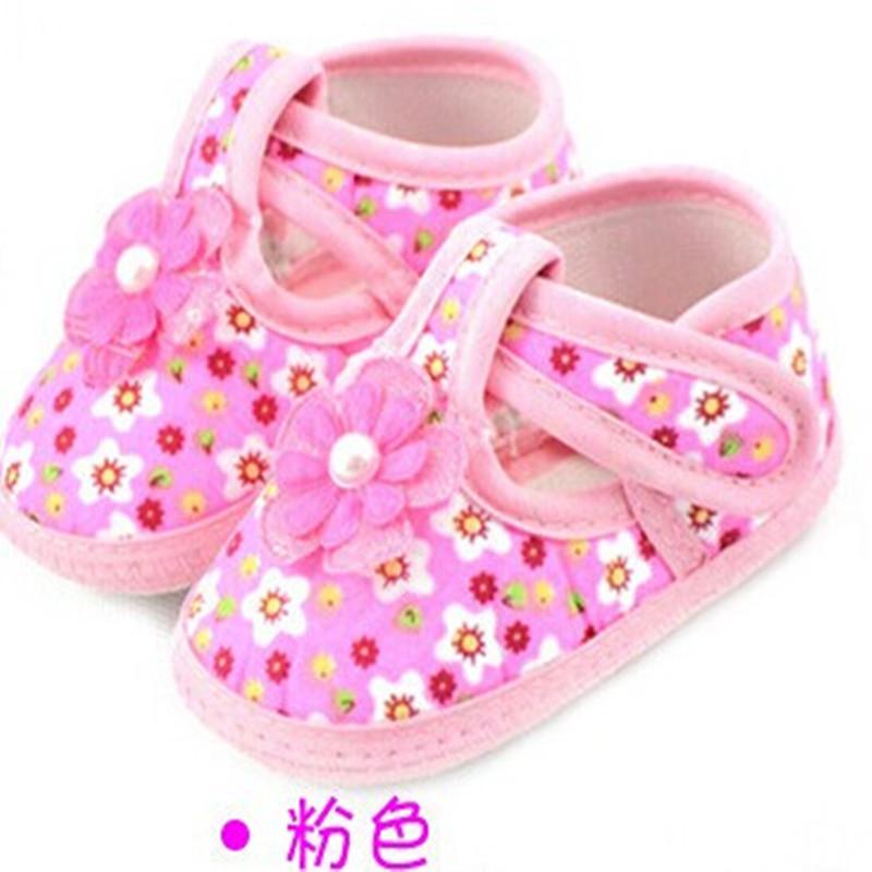 Newborn Girl Shoes Ribbon