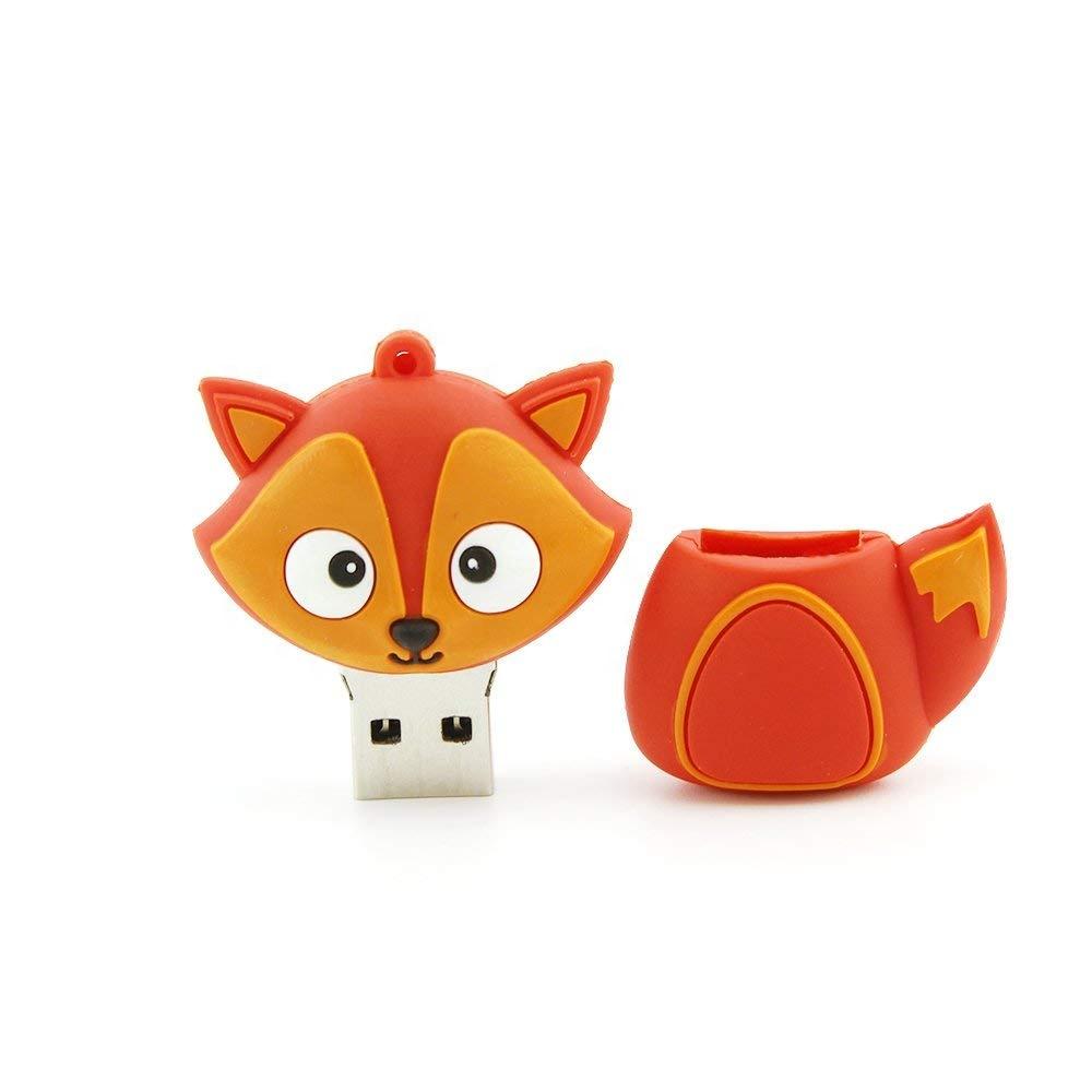 Animal model pendrive Penguin/ Bee/ Owl/Fox Cartoon usb flash drive 8GB 4GB USB Flash Drive 128GB 64GB 32GB flash Memory Stick - USBSKY | USBSKY.NET