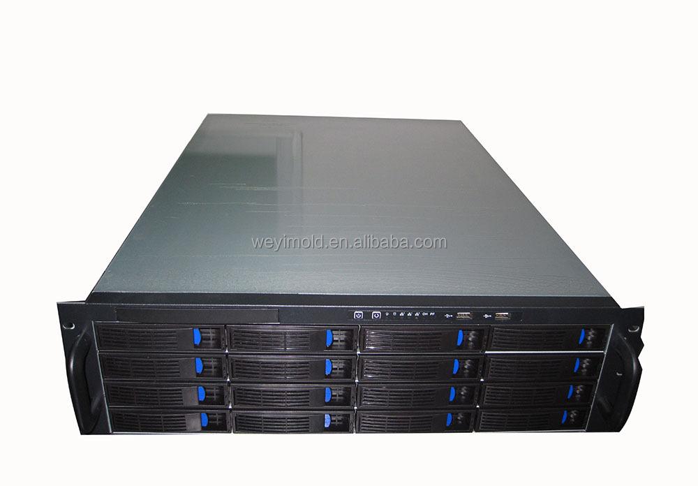 Manufacturer 3U Server Case Rackmount Chassis ATX Industrial Case Hot Swap Computer Case Fabrication