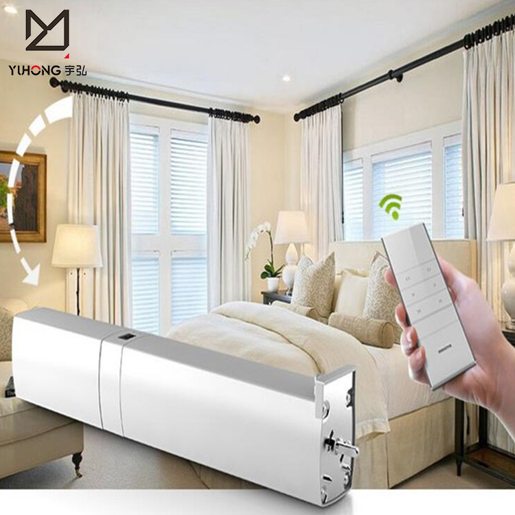Motorized Curtains Motor With Remote Control Buy Wireless Electric Curtain Motor Automatic Curtain Motor Motor Product On Alibaba Com