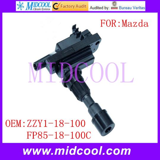 Новый катушка зажигания использования OE no. Zzy1-18-100, Fp85-18-100c для Mazda Miata