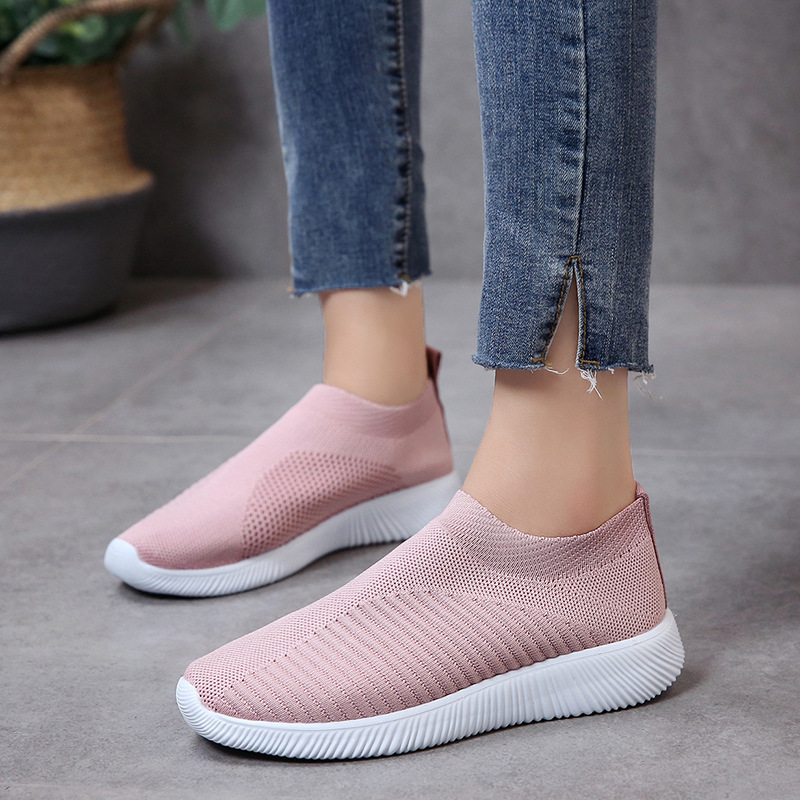 PDEP женские большие size35-43 повседневные женские спортивные беговые кроссовки спортивные кроссовки без шнуровки; Модная женская обувь