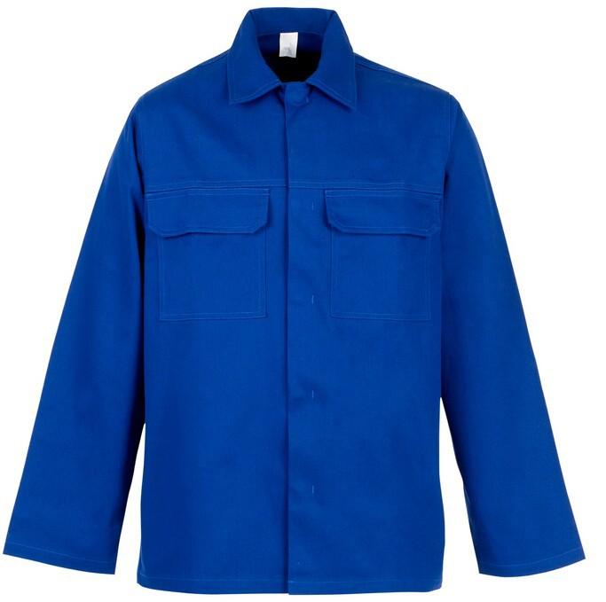 100% cotton Safety FR Jacket For safety welder jacket - KingCare | KingCare.net