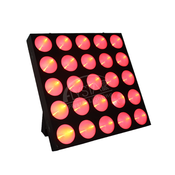 Professional stage light Led Matrix 25Pcs 10W RGB 3in1 25 Eyes LED Wash Matrix Blinder For concert theater