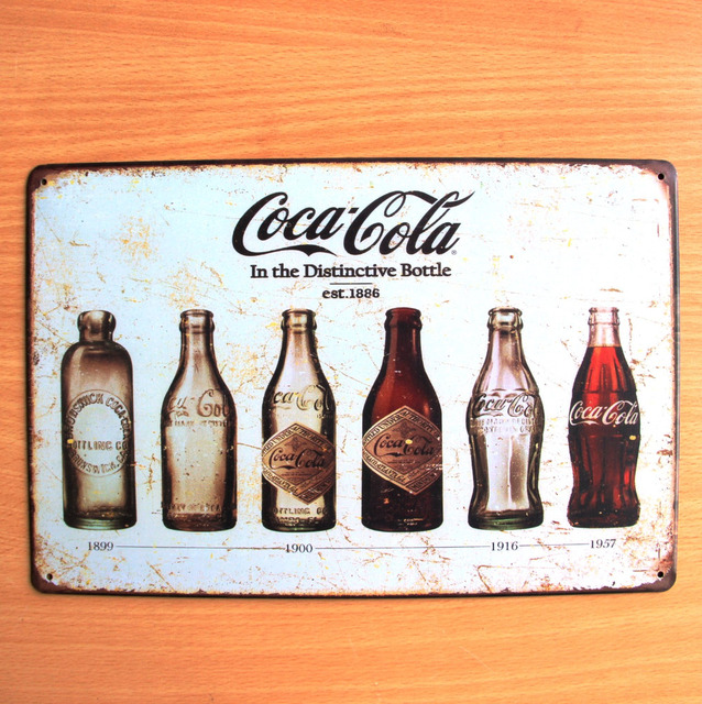 botellas de coca cola vintage home decor poster bar decor oficios retro pintura poster vintage. Black Bedroom Furniture Sets. Home Design Ideas
