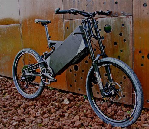 Высокомощный мотор для электрического велосипеда Mac с возможностью подъема на гору