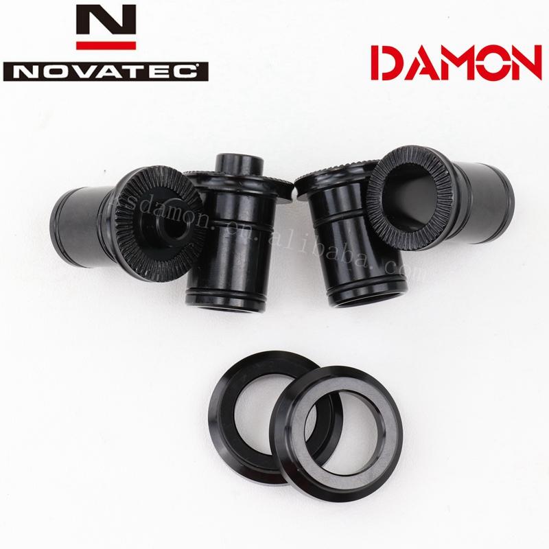 Novatec D791//XD611//D771 CENTRELOCK front hub 15mm thru axle end cap kit