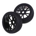 Hot Sale 2 PCS Sponge Liner Tyre Tires Wheel for HSP 1 8 RC Off Road
