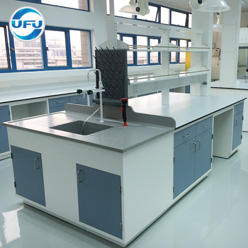 Laboratory Equipment Furniture Central Lab Workbench with High Quality Factory Supply