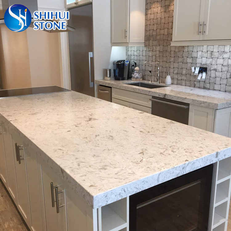 Shs Quartz Kitchen Island Table Top With Competitive Price Buy Quartz Kitchen Island Table Top Kitchen Cabinet Table Top Quartz Stone Table Top Product On Alibaba Com