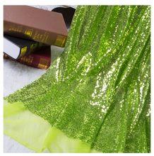 Блестящие пайетки, ткань DIY, блестящая ткань для платья, сумки, обувь для вечеринки, свадьбы, торжества, сцены, декорации(Китай)