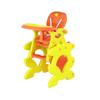 Orange baby highchair