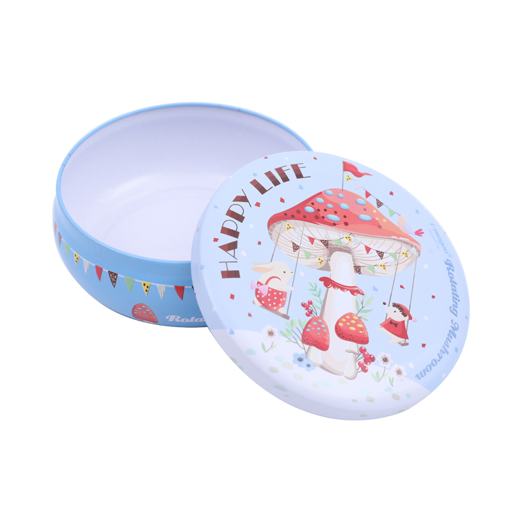 Brilliant Quality Small Metal Saffron Packaging Tin Perfume Box