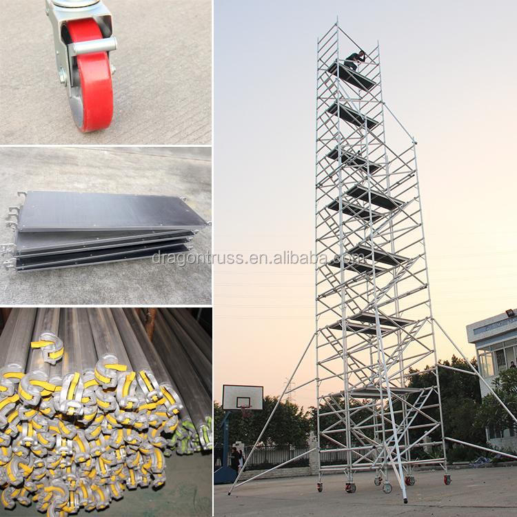 Dragon Aluminium Scaffolding Used Scaffold for Sale Scaffolding Pipe