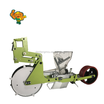 Tractor drive farmer like vegetable spring onion planting machine