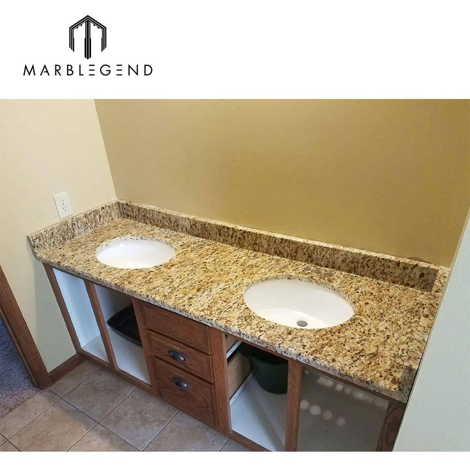 Best Price Bathroom Vanity Top Santa Cecilia Yellow Granite Kitchen Countertop Buy Granite Kitchen Countertop Granite Bathroom Vanity Top Santa Cecilia Yellow Granite Product On Alibaba Com