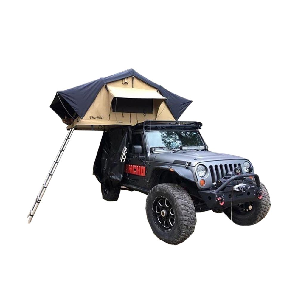 Custom wholesale Awning Sun Shelter Auto Canopy Camper Trailer Tent hard shell camping car roof top tent Manufacturer