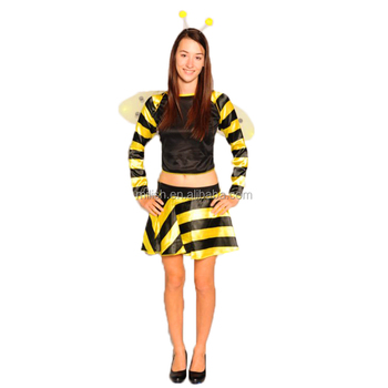 Party Carnival adult sexy women bumble bee wings costume MAA-72