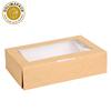 sushi box(kraft with window)2