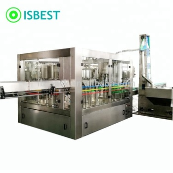 Automatic 200ml-2L PET Bottle Mini Drinking Mineral Water Bottling Plant / Line / Machine for 600BPH