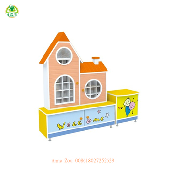 Kids bedroom sets wooden storage cupboards / wooden storage cupboards with door and drawer (QX-206C)